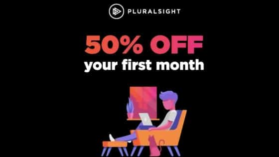 pluralsight 50% off