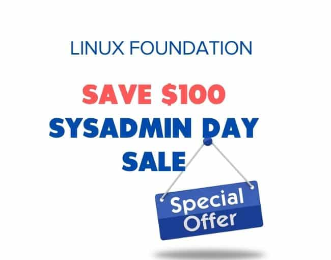 sysadmin day sale coupon